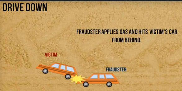 drive down car insurance fraud scenario 2
